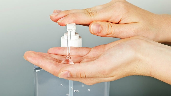 does hand sanitizer kill herpes